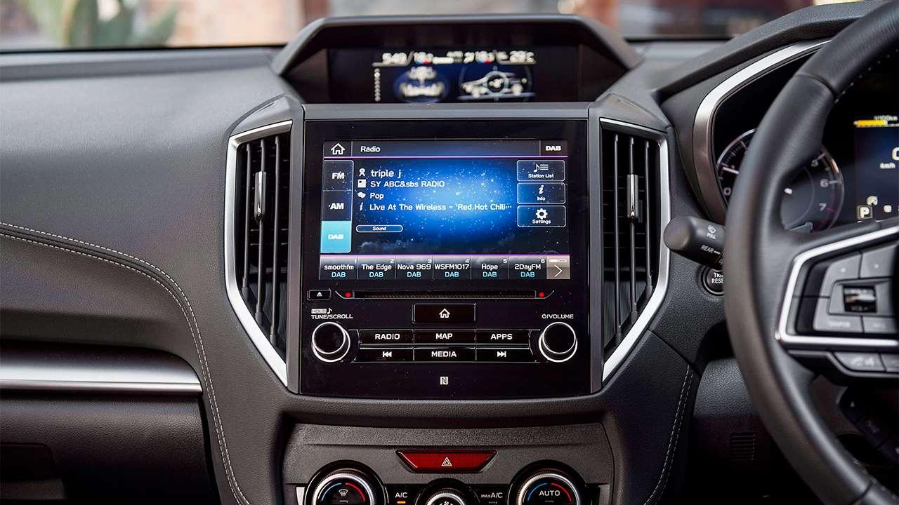 Мультимедиа Subaru Impreza