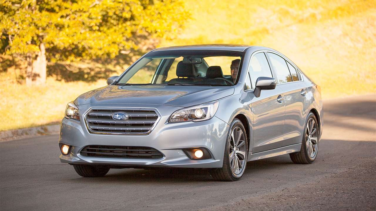 Subaru Legacy 2020-2021 фото спереди