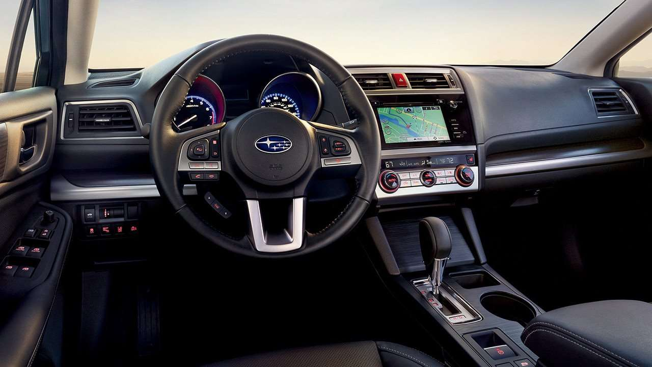 Subaru Legacy 2020-2021 салон