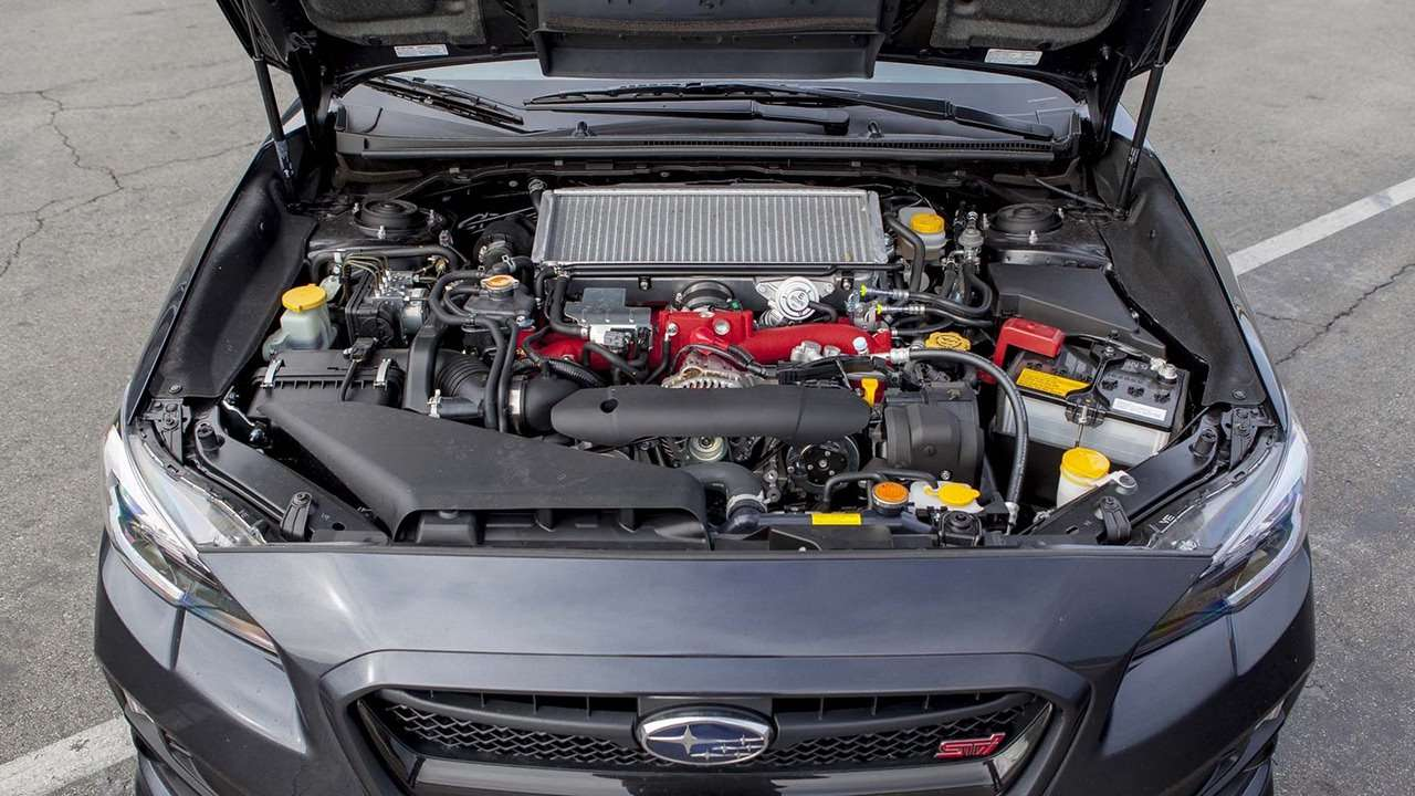 двигатель Субару ВРХ СТИ 2016-2017