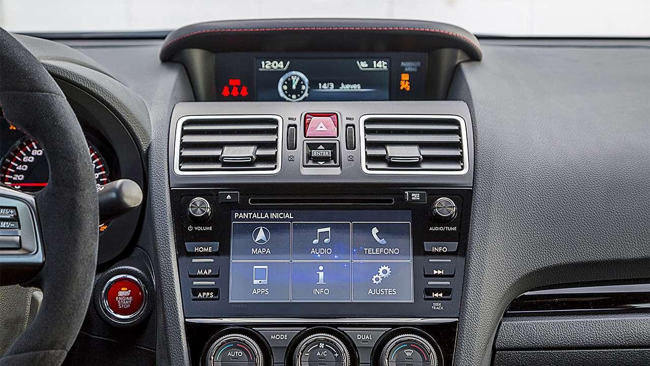 Мультимедиа Subaru WRX STI