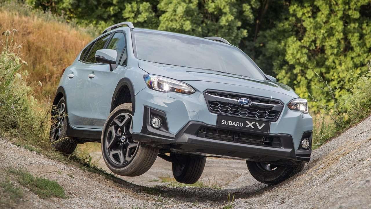 Subaru XV 2020-2021 на бездорожье
