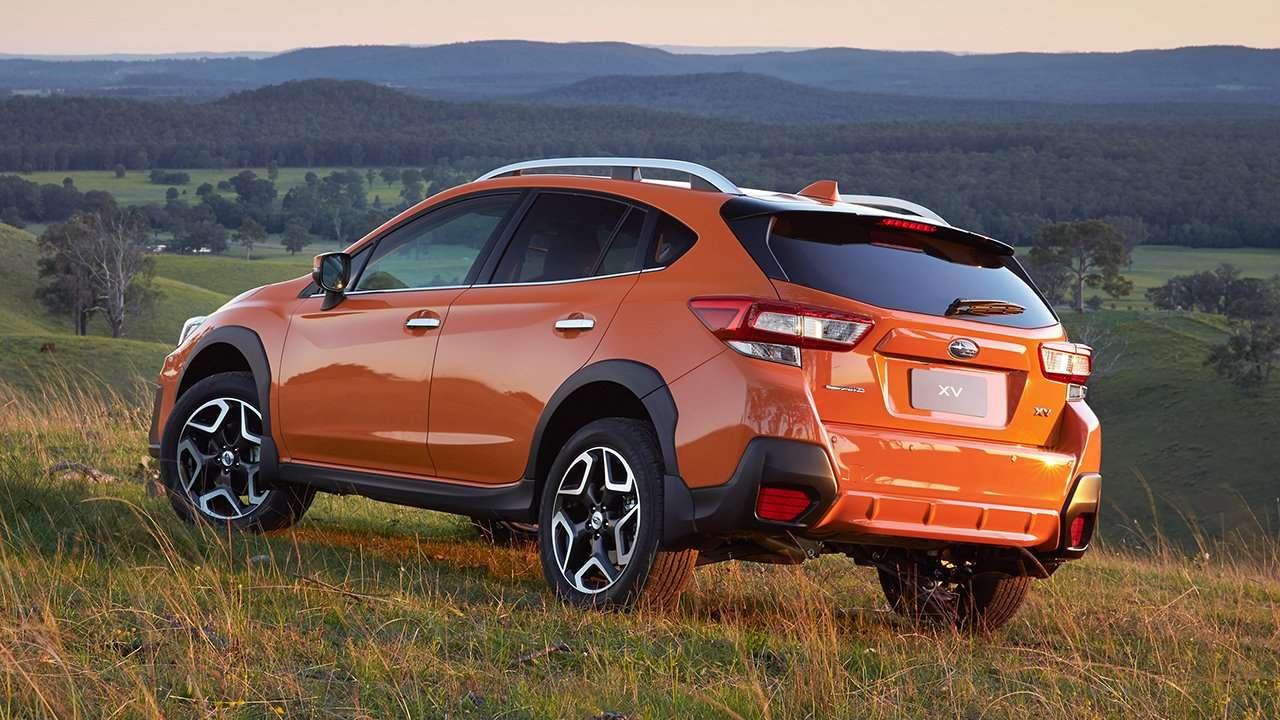 Subaru XV 2020-2021 фото сзади