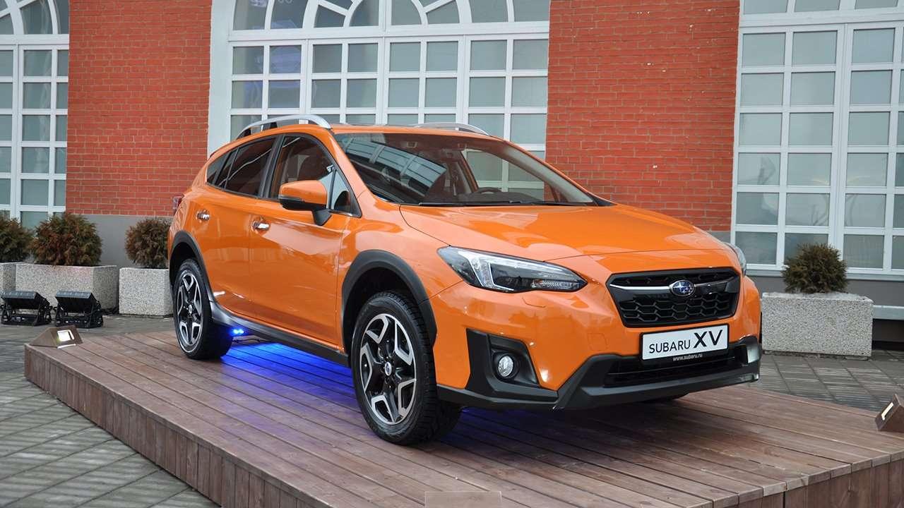 Фото передка Subaru XV 2020-2021