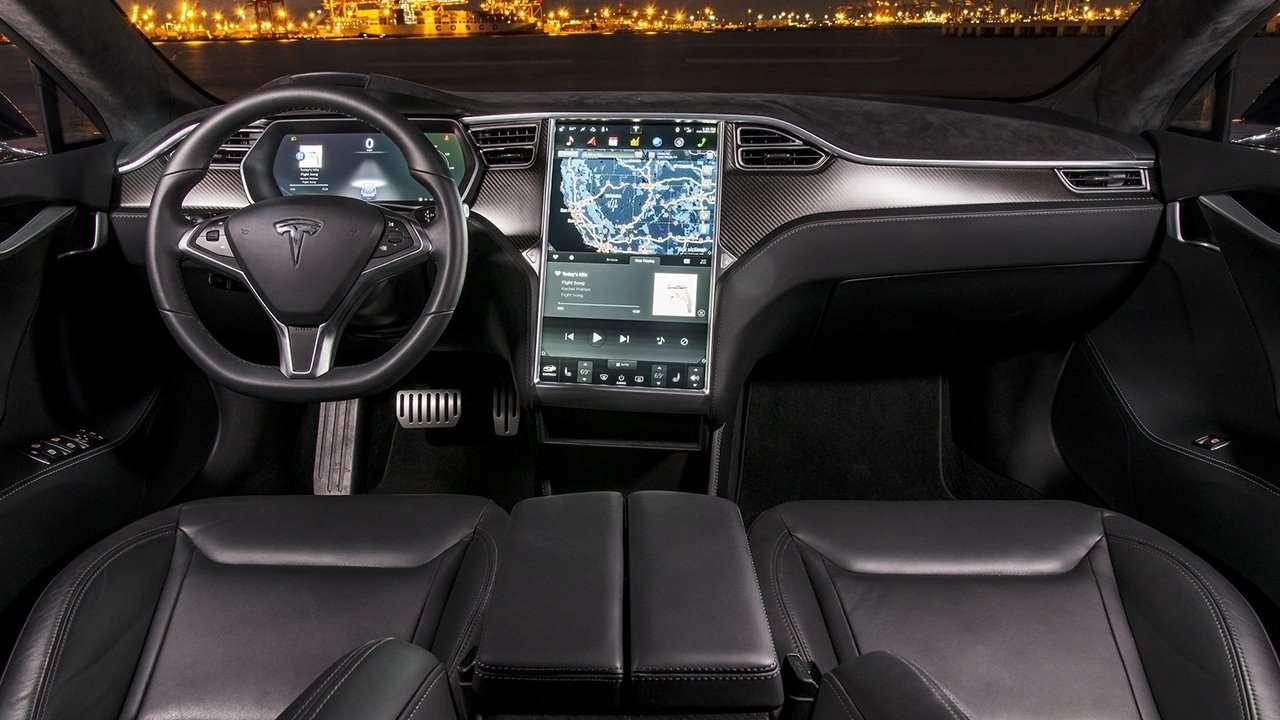 Салон Tesla Model X 2020-2021