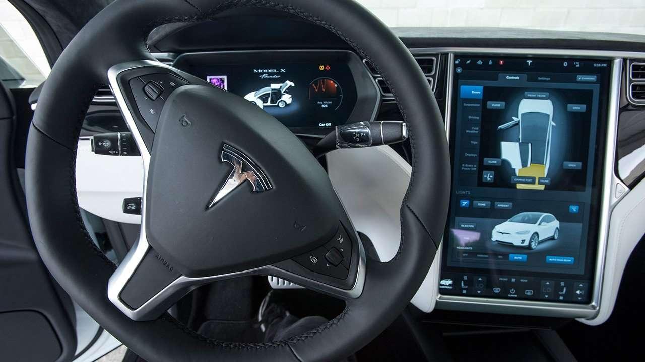 Руль Тесла Модель Х 2020-2021