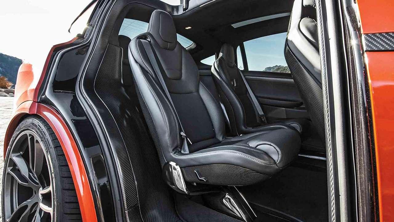 Задние кресла Tesla Model X 2020-2021