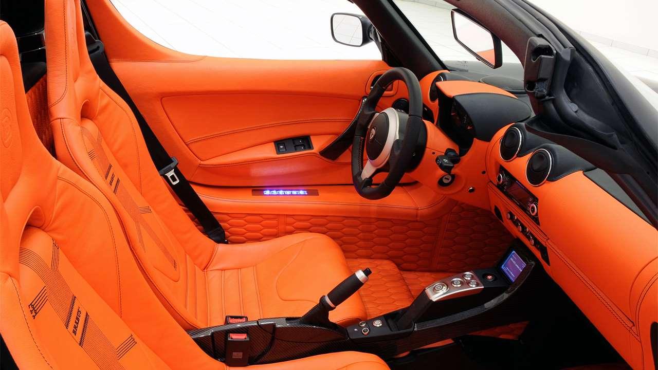 Сиденья Tesla Roadster (2008-2012)