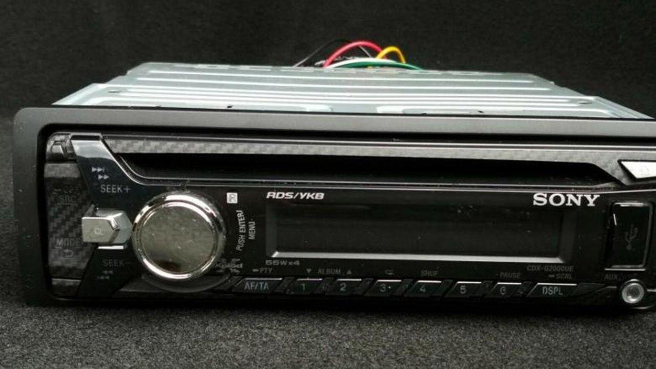 Sony CDX-G2000UE