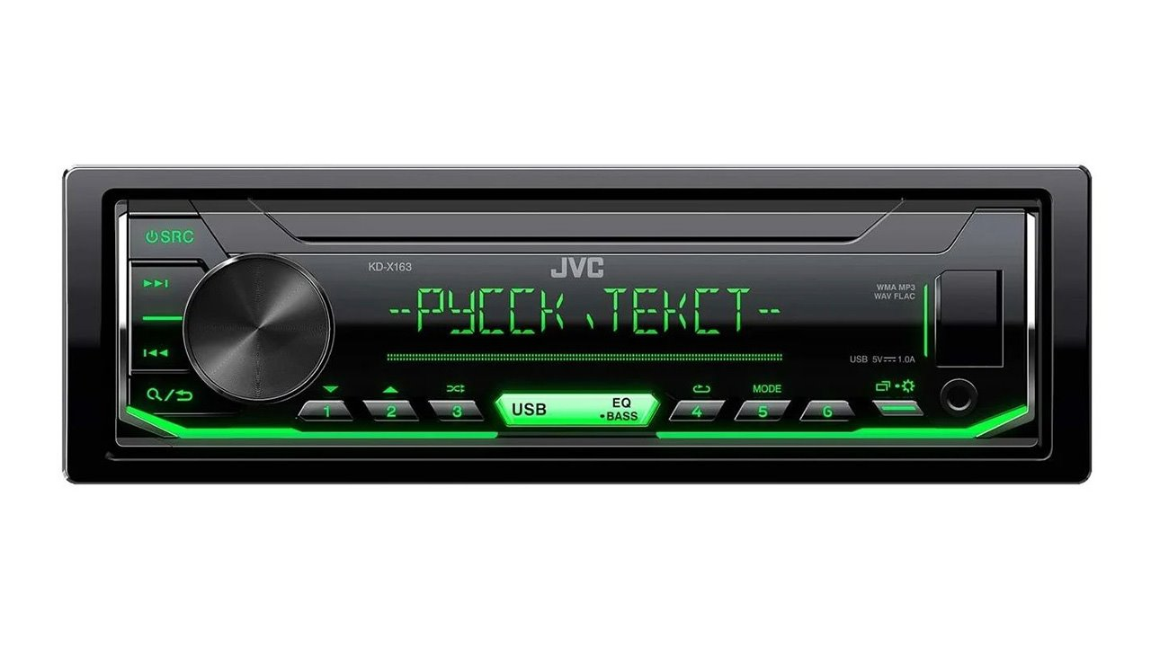 JVC KD-X163