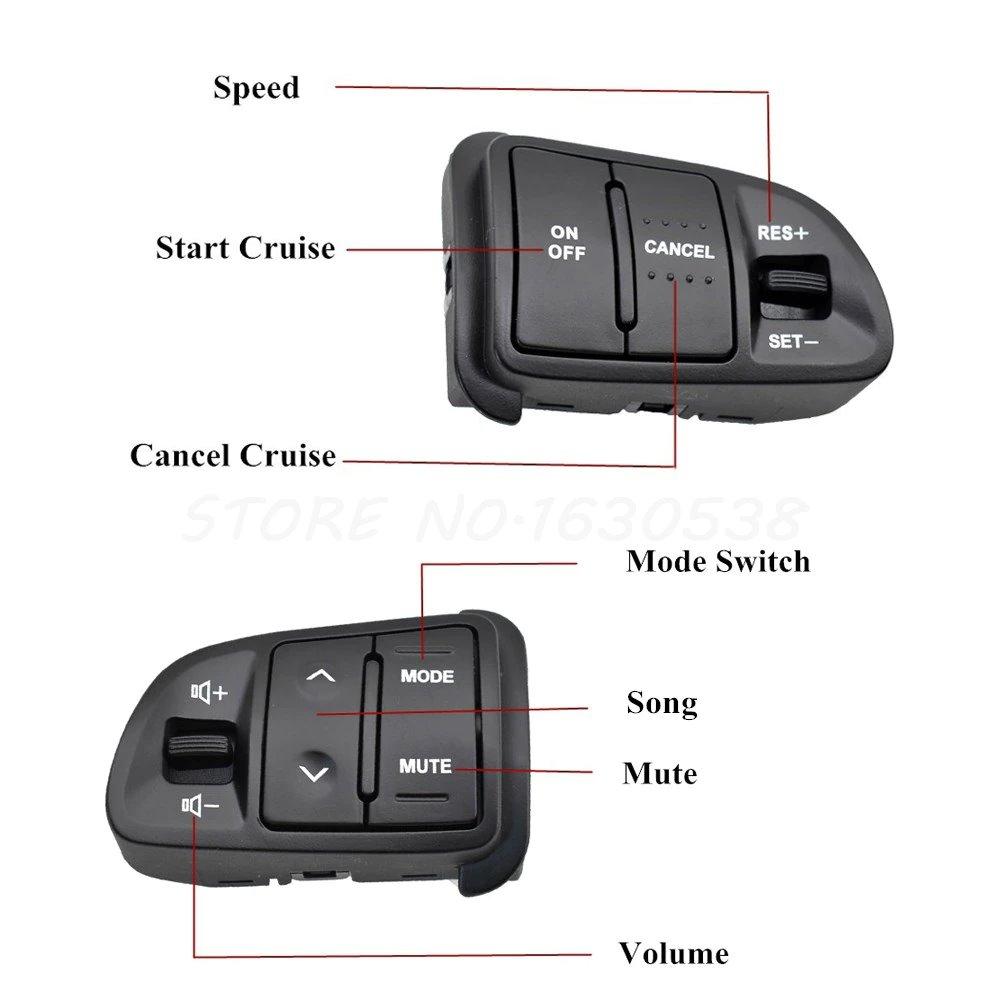 Комплект кнопок мульти-руля