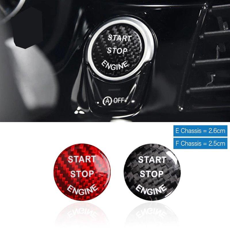 Карбоновая кнопка Start-Stop