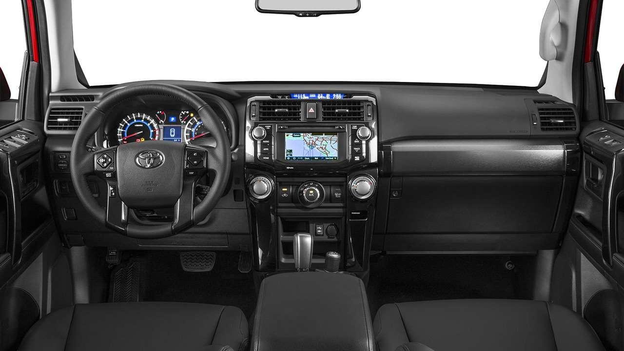 Toyota 4Runner 2019-2020 салон