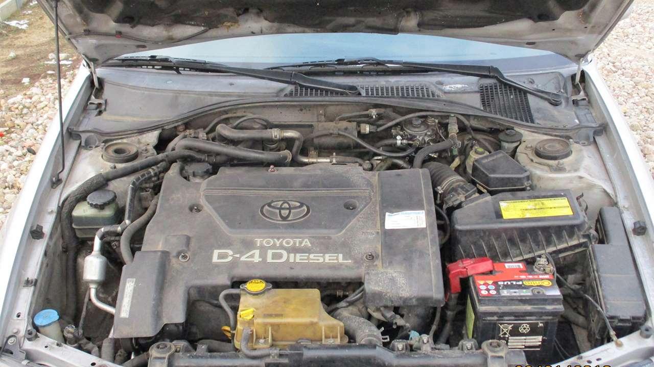 Дизельный двигател Тойоты Авенсис Т220