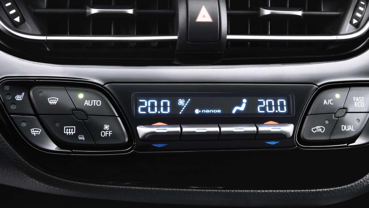 Климат-контроль Тойота С-НР 2020-2021