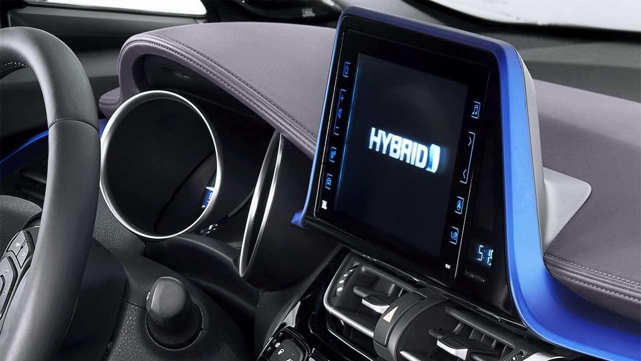 Мультимедиа Toyota C-HR 2020-2021