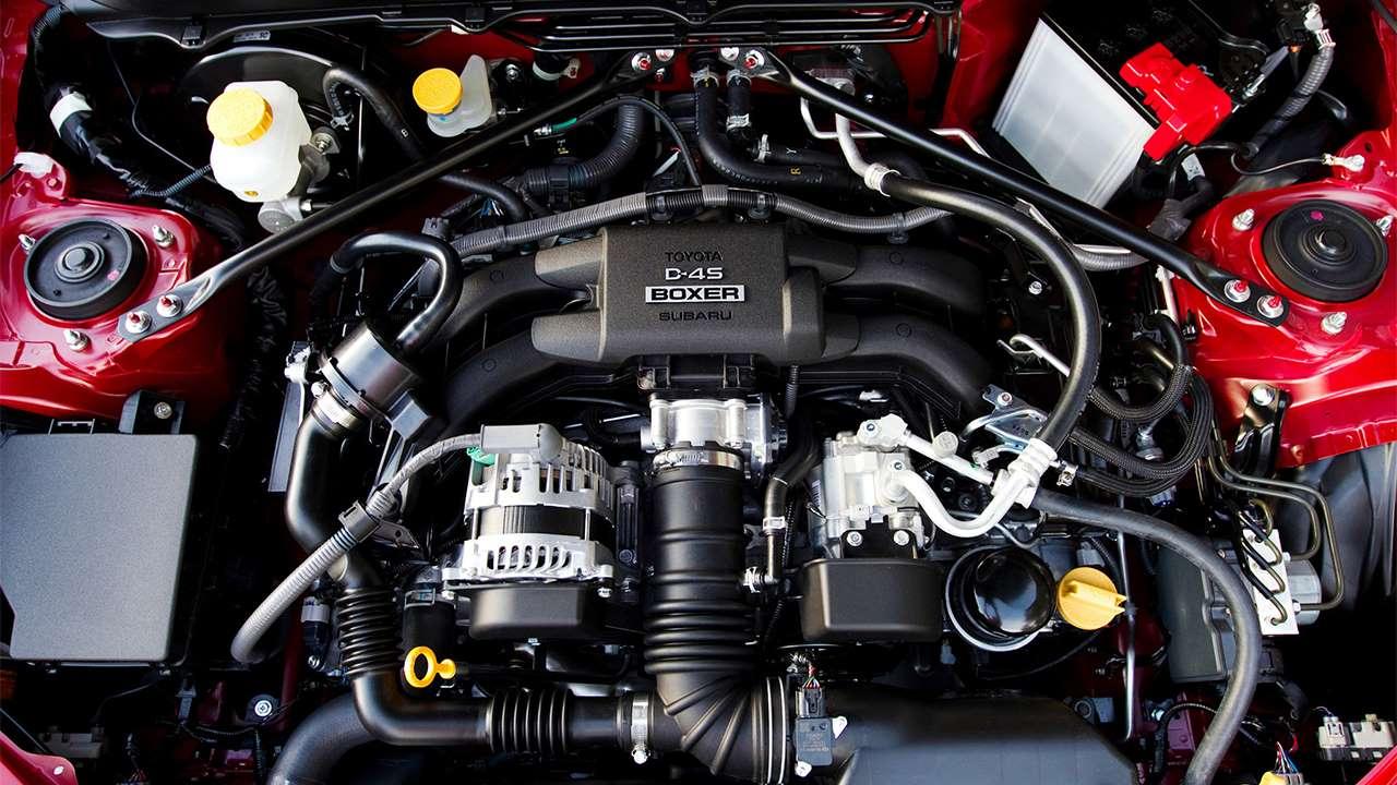 Двигатель Тойоты GT 86