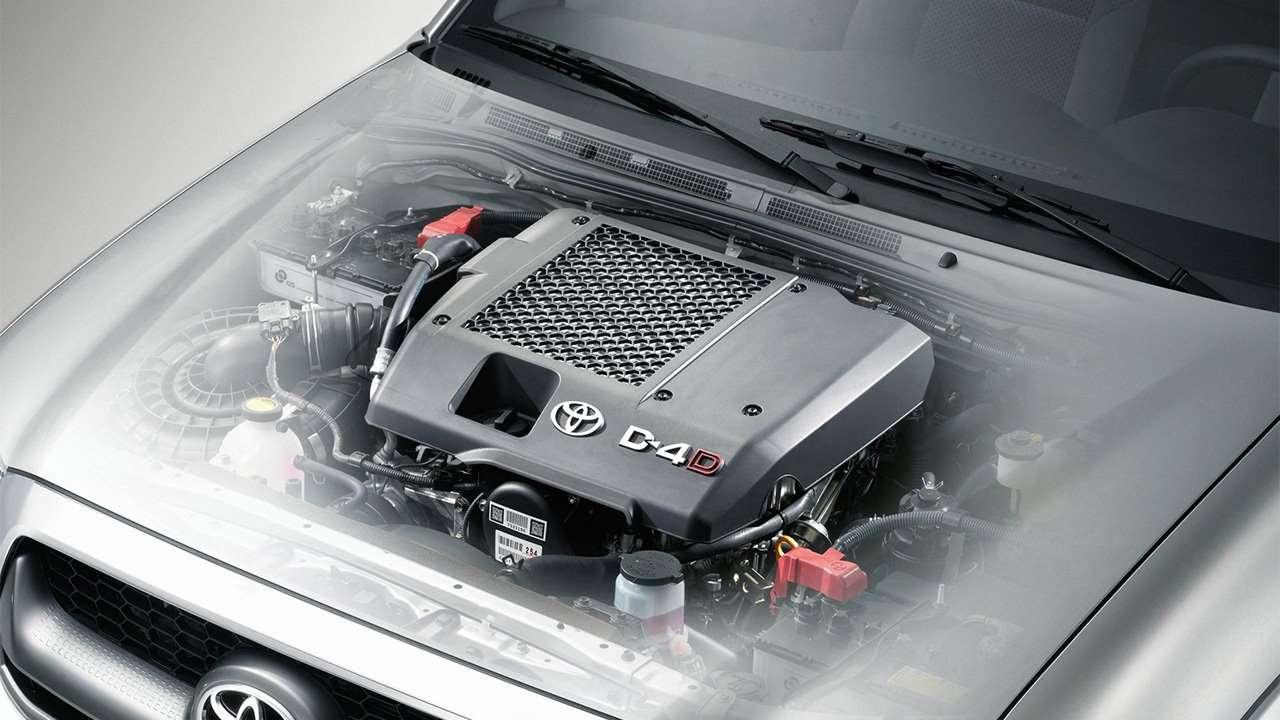Дизельный мотор Toyota Hilux 7