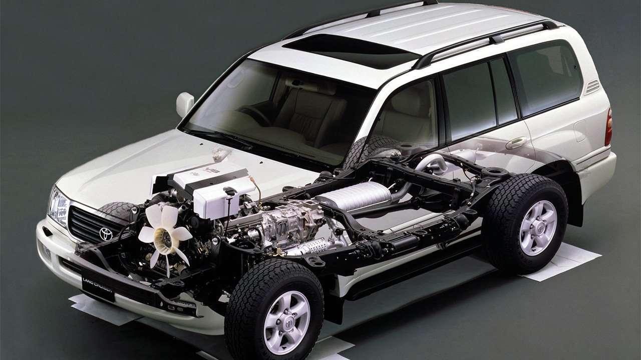 Конструкция Toyota Land Cruiser 100