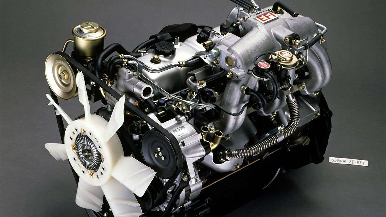 Фото двигателя 3F-E