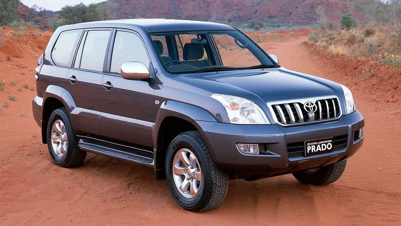 Передняя часть Toyota Land Cruiser Prado 120