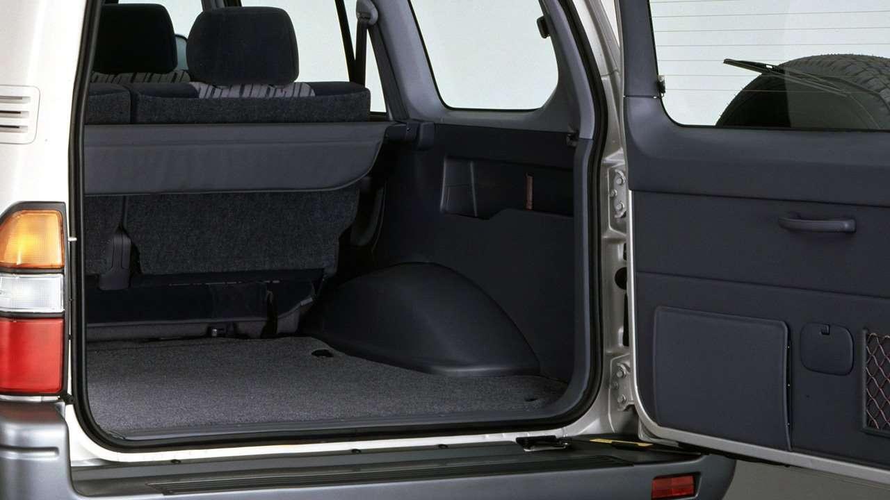 Фото багажника Land Cruiser Prado J90