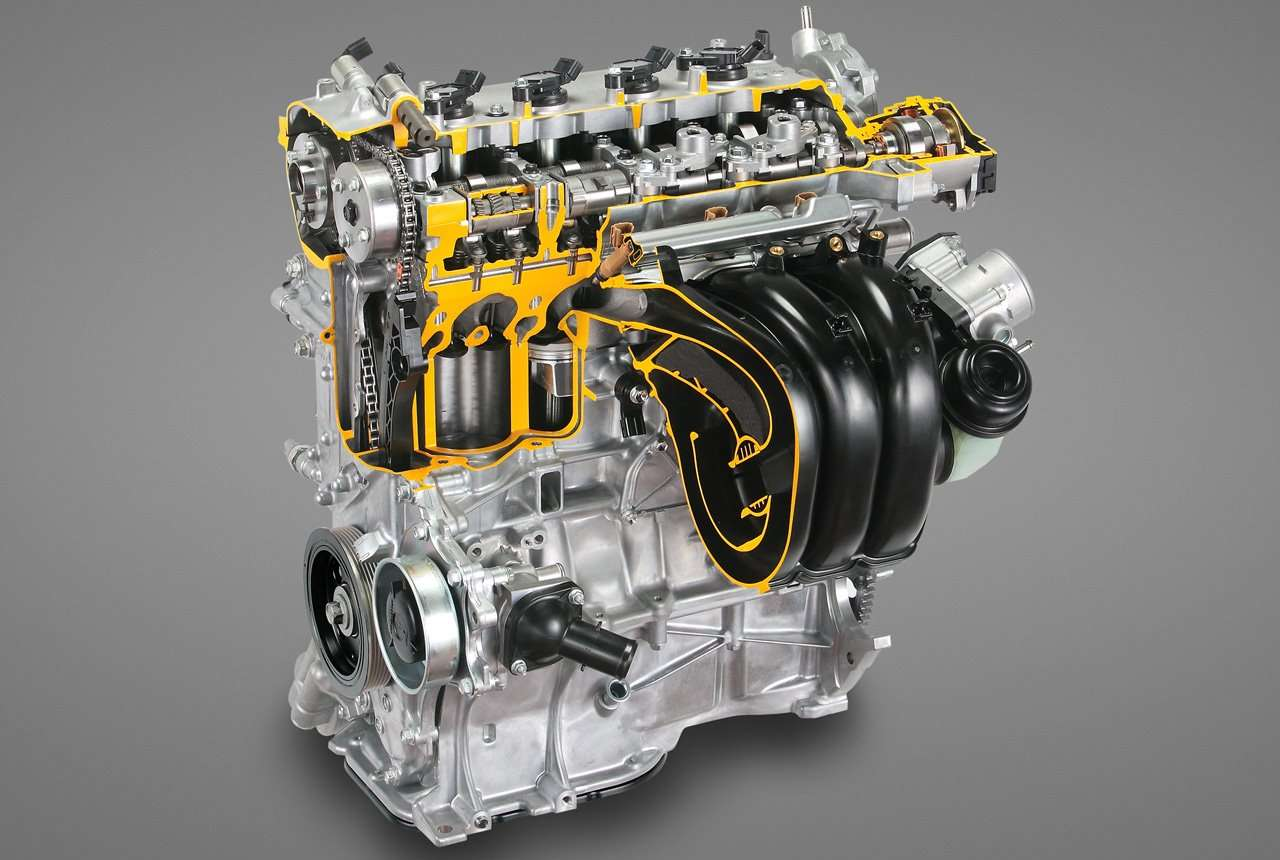 Фото двигателя 3ZR-FE