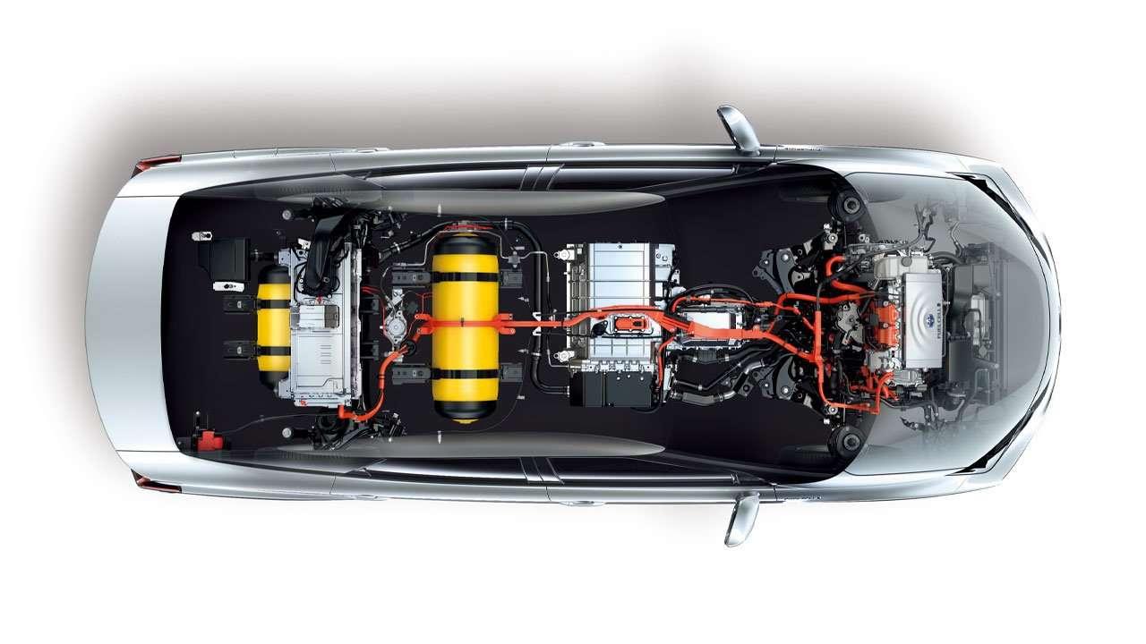 Вся техническая начинка Toyota Mirai