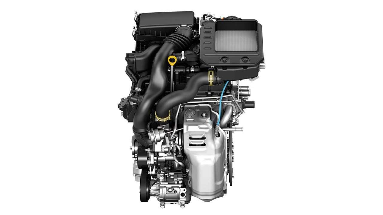 Фото двигателя Тойоты Райз