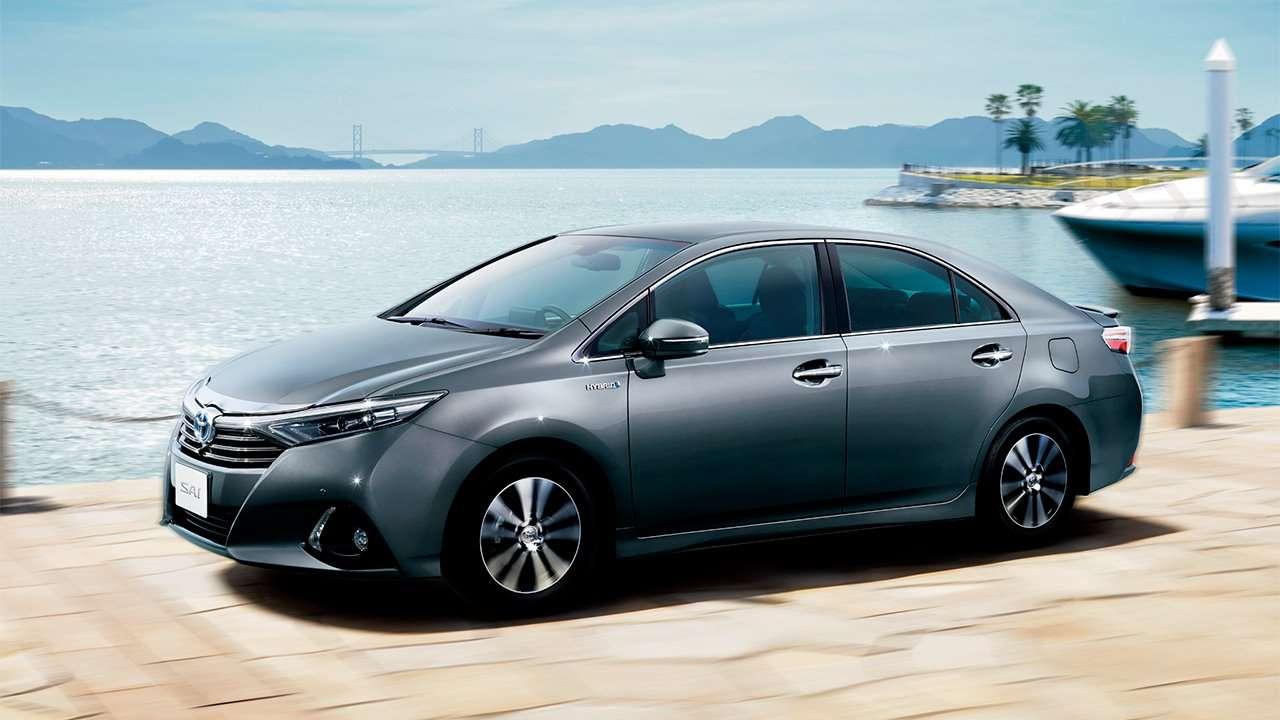 Фото Toyota Sai сбоку