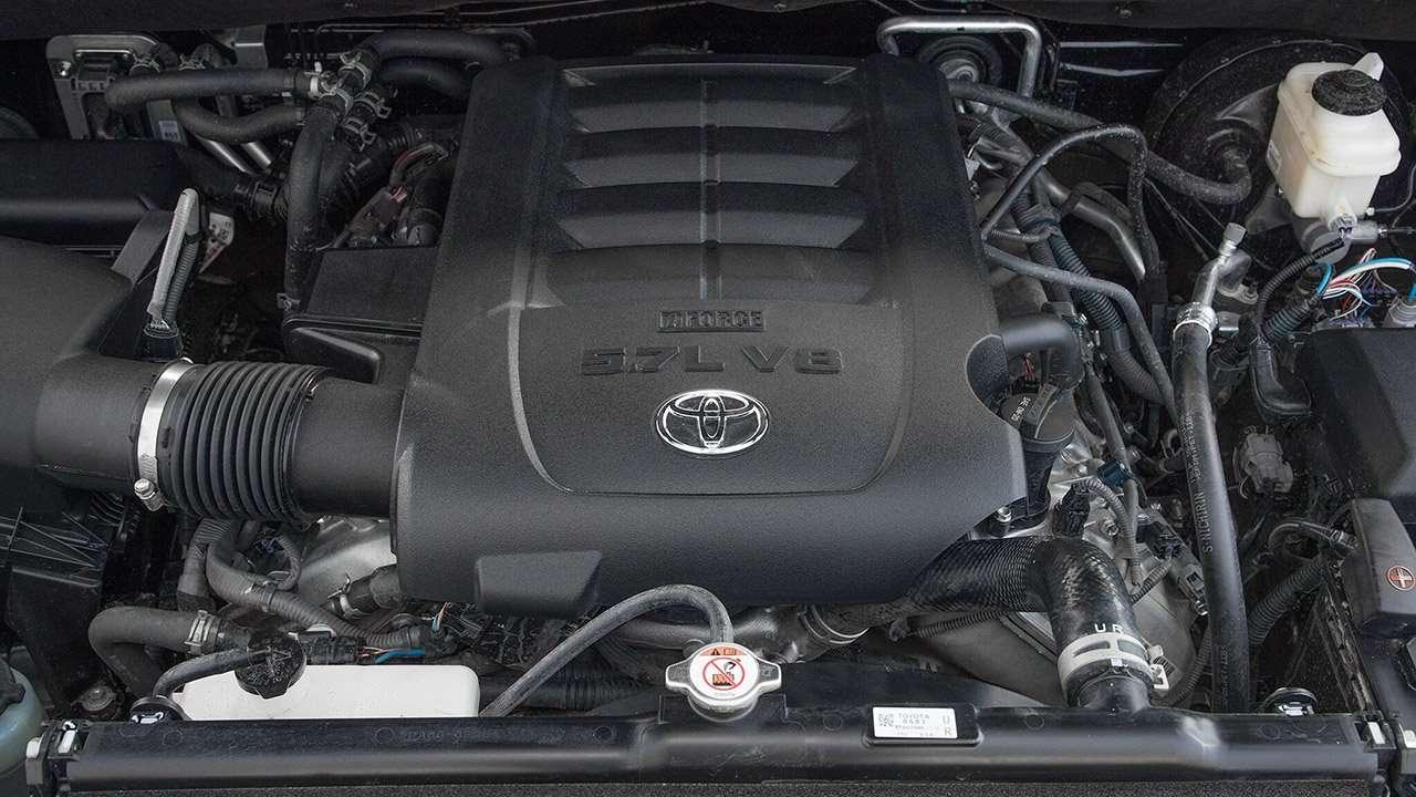 5,7-литровый мотор Секвойи