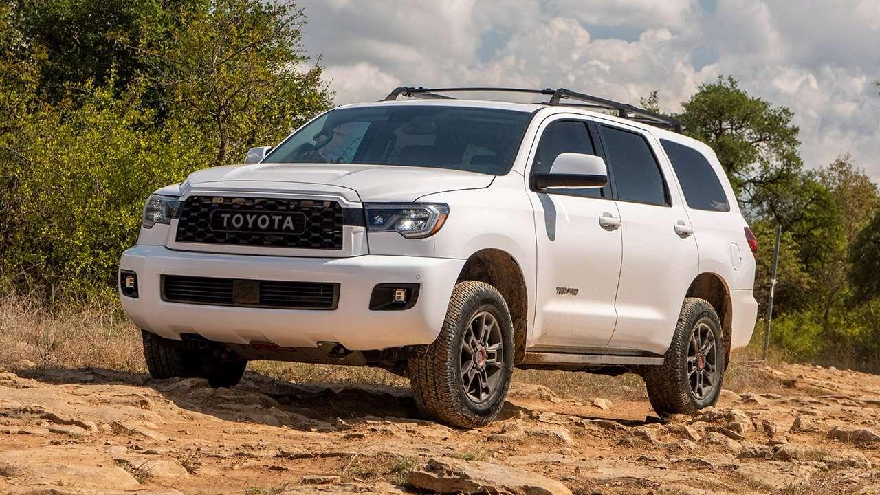 Новая Тойота Секвойя TRD