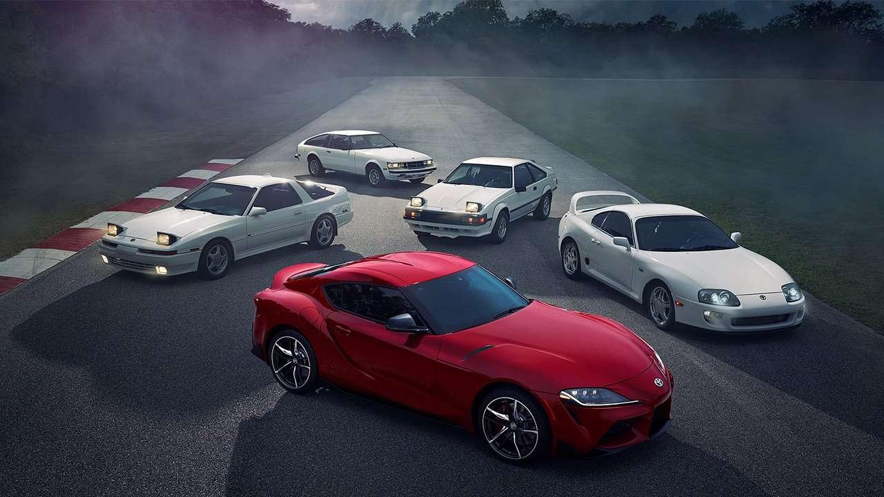 Все поколения Toyota Supra
