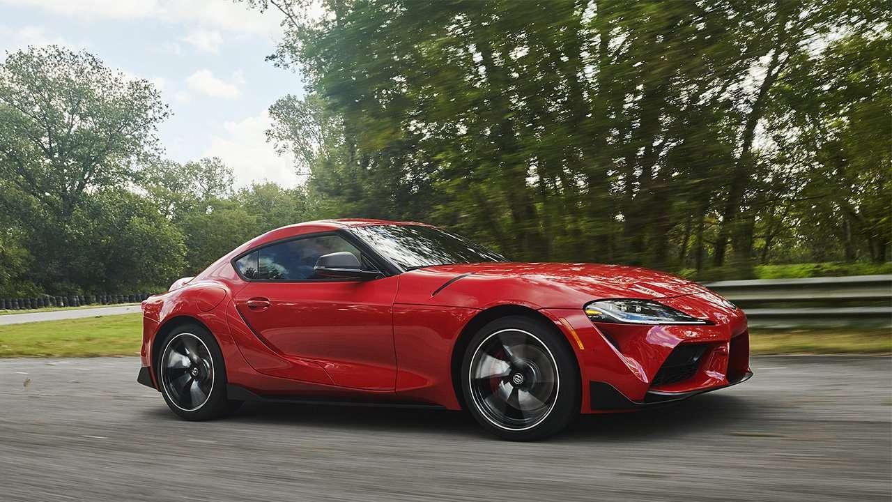 Боковая часть Toyota Supra 2020-2021