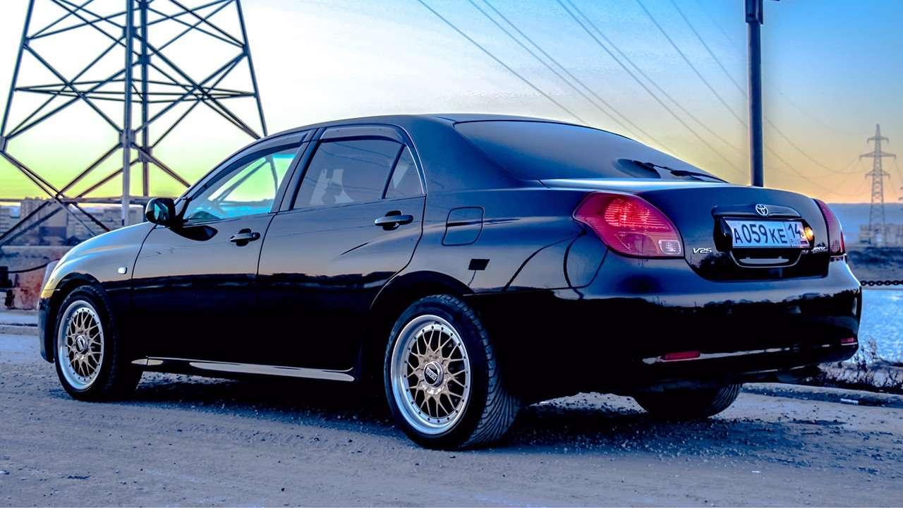 Toyota Verossa 2001 фото сзади