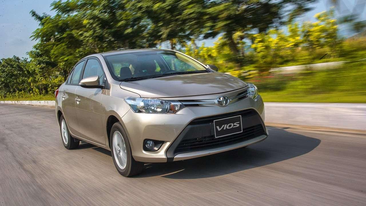 Передняя часть Toyota Vios 2016-2017