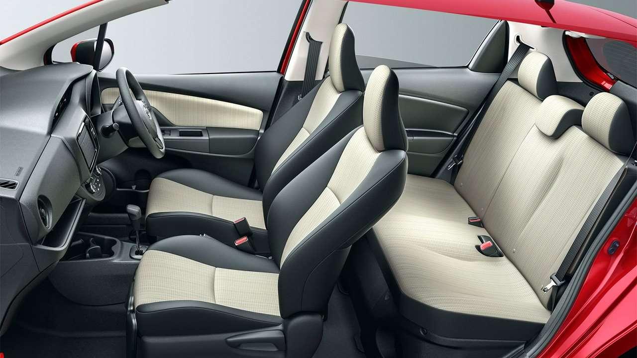 Сиденья Toyota Vitz XP130