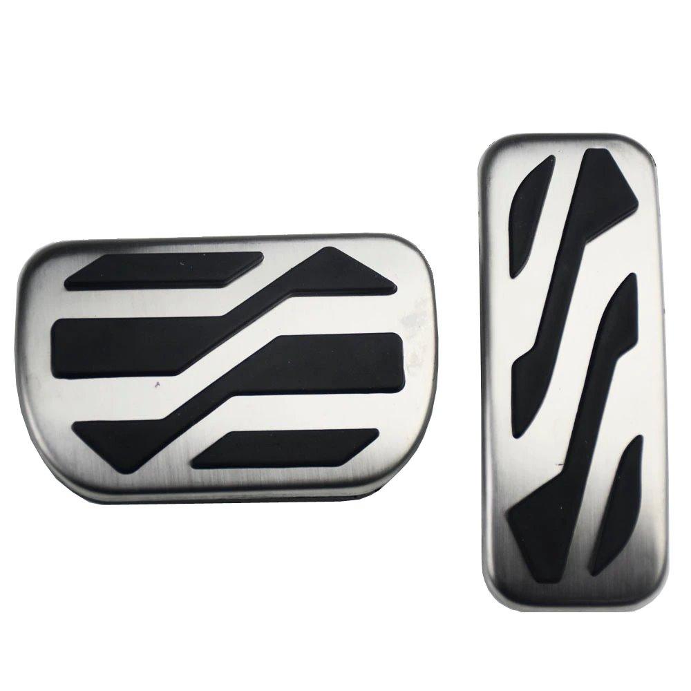 Алюминиевые накладки педалей