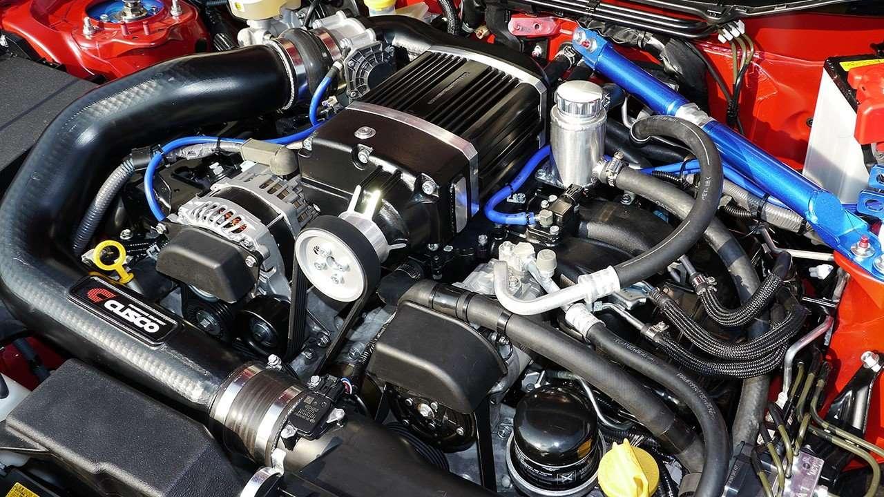 Тюнинг двигателя автомобиля