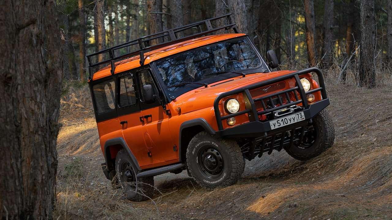 Экспедиционный UAZ Hunter