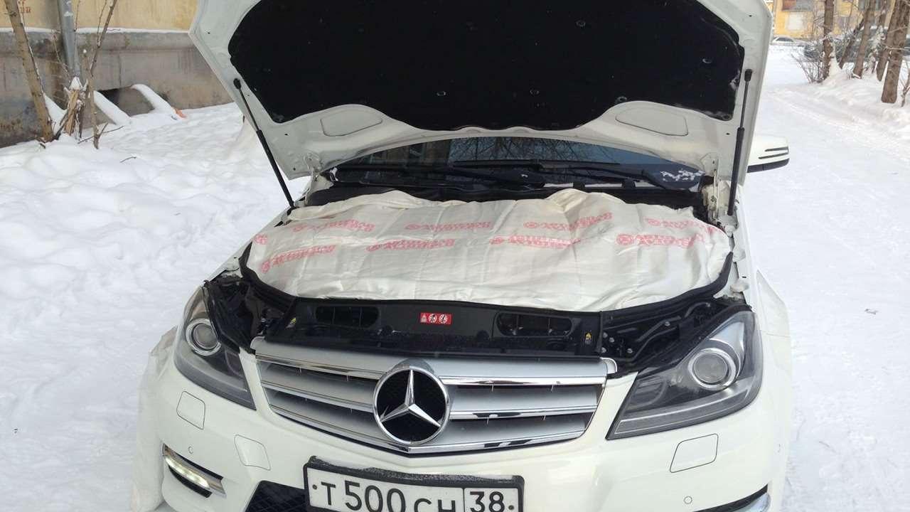 Как утеплить капот автомобиля своими руками
