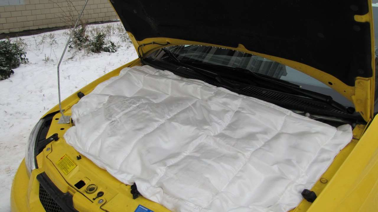 Одеяло для утепления капота