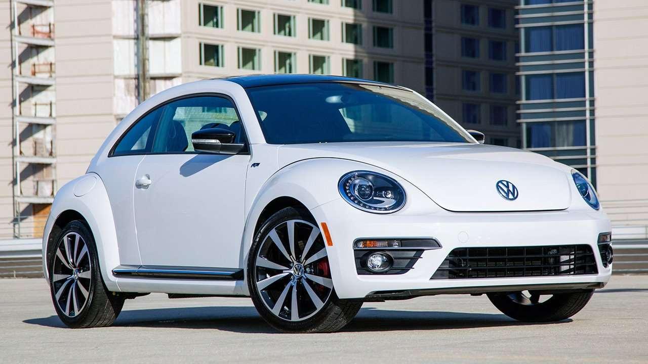 Volkswagen Beetle 2017-2018 фото спереди