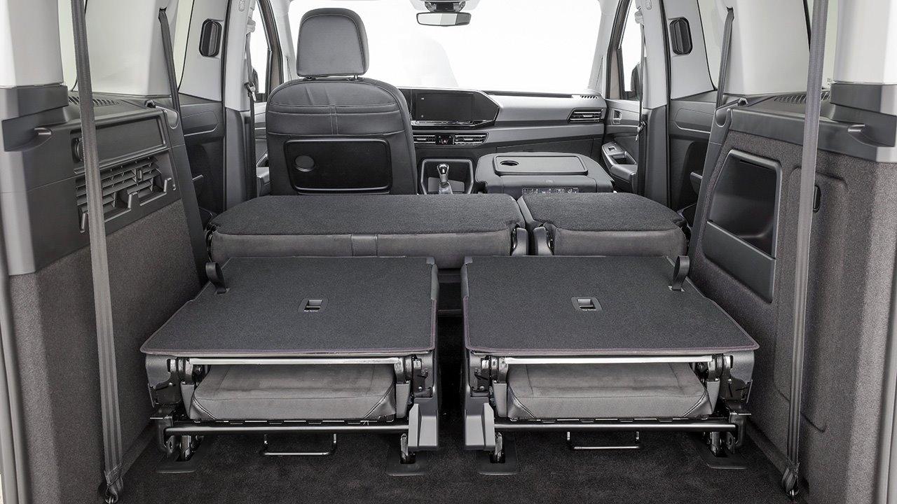 Багажник со сложенными креслами