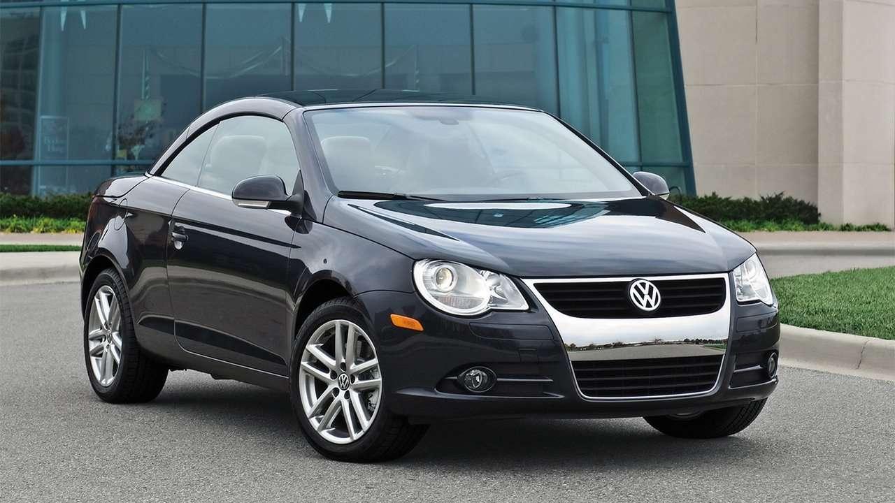 Дорестайлинг Volkswagen Eos