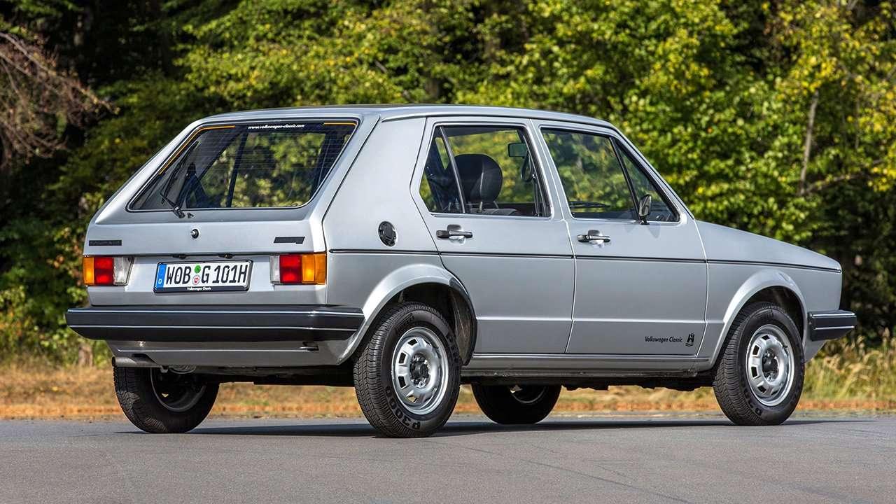 Задняя часть Volkswagen Golf 1