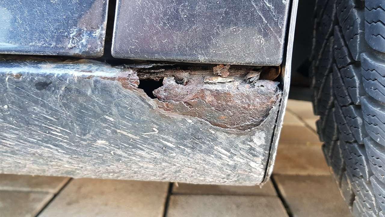 Коррозия арок Гольф 5