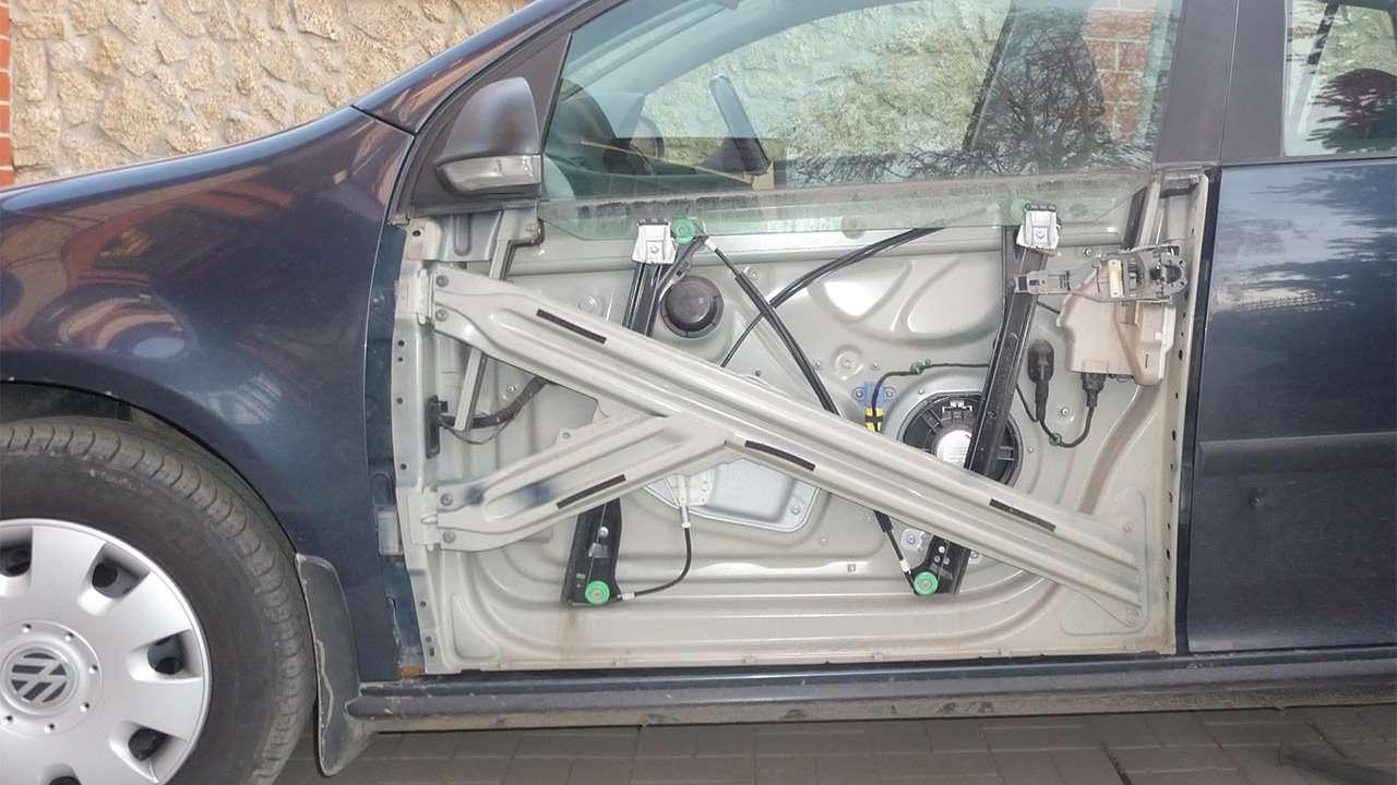 Golf mk5 без панели двери