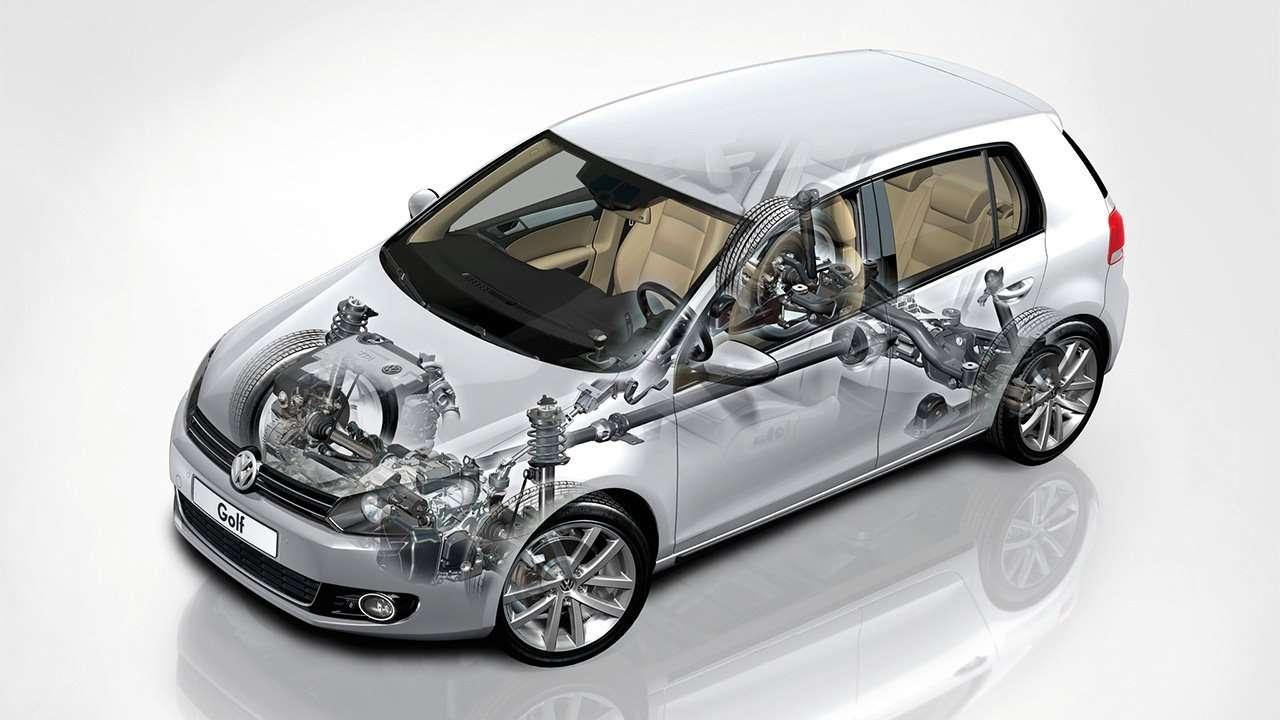 Подвеска VW Гольфа
