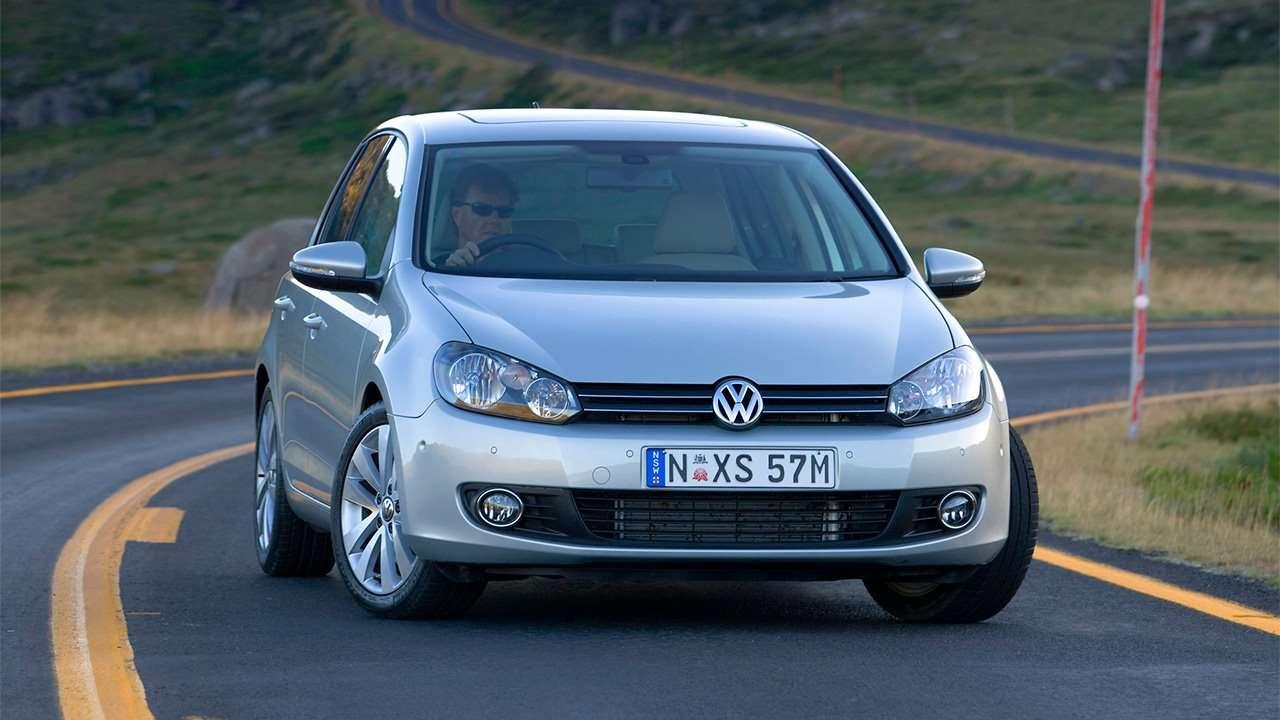 Морда Volkswagen Golf VI